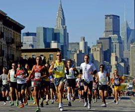 Participants au New York Marathon